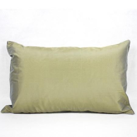"Green Geometry Pattern Pillow 14""X22"" - G Home Collection"