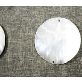 Dark Gray Handmade Round Shell Pillow  12