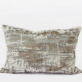 Light Gold Mix Color Metallic Chenille Pillow 14