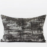Brown Mix Color Metallic Chenille Pillow 14