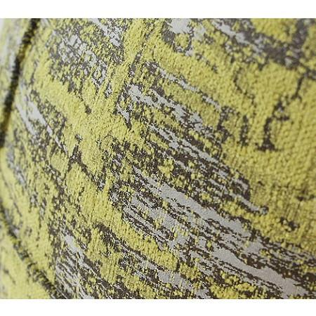"Lemon Yellow Mix Color Metallic Chenille Pillow 14""X20"" - G Home Collection"