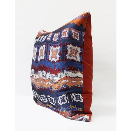 "Tangerine Tribe Pattern Jacquard Pillow 20""X20"""