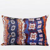 Tangerine Tribe Pattern Jacquard Pillow 14