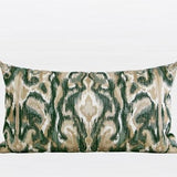 Green European Classical Pattern Embroidered Pillow 12