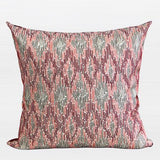 Red European Classical Pattern Embroidered Pillow 20