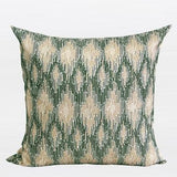 Green European Classical Pattern Embroidered Pillow 20