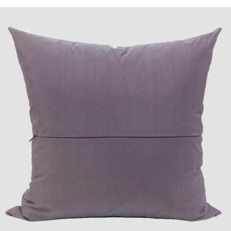 "Purple Nonobjective Embroidered Pillow 20""X20"" - G Home Collection"