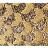 Yellow Arrows Pattern Jacquard Pillow 20
