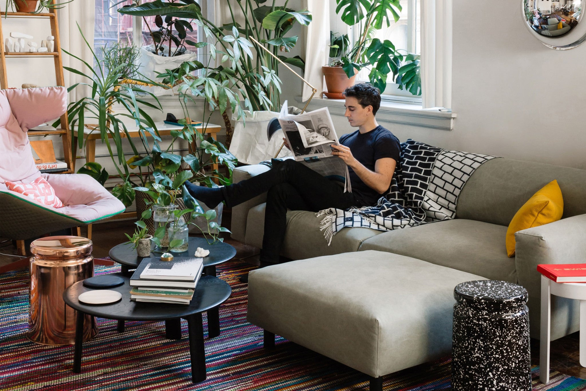 Best Of The Week 9 Instagrammable Living Rooms: At Home With Creative Director