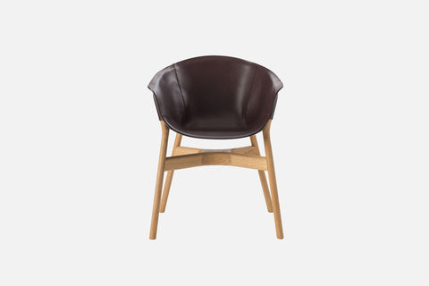 Pocket Armchair Brown