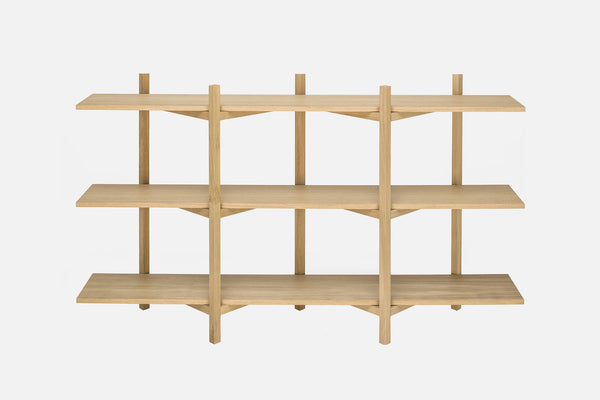 Zig Zag Low Shelf