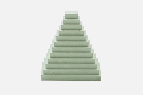 Landmarks Bookend (Set of 2) Pastel Green