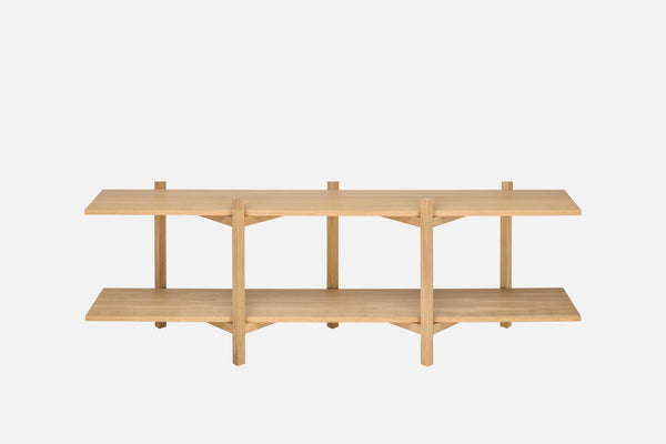 Zig Zag Media Shelf