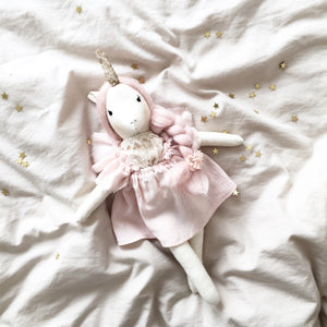 "SAMPLE ""Stella"" the Unicorn Doll 40cm"