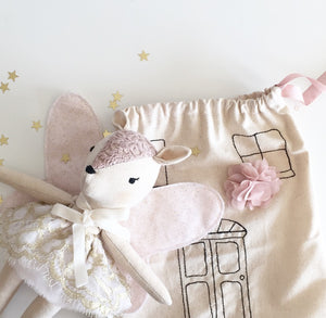 """Star"" the Fawn Doll travel set 25cm"