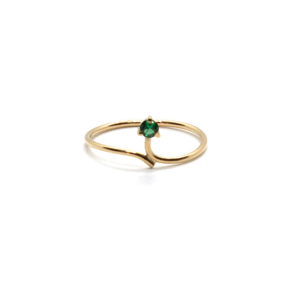 Linear Dainty Ring