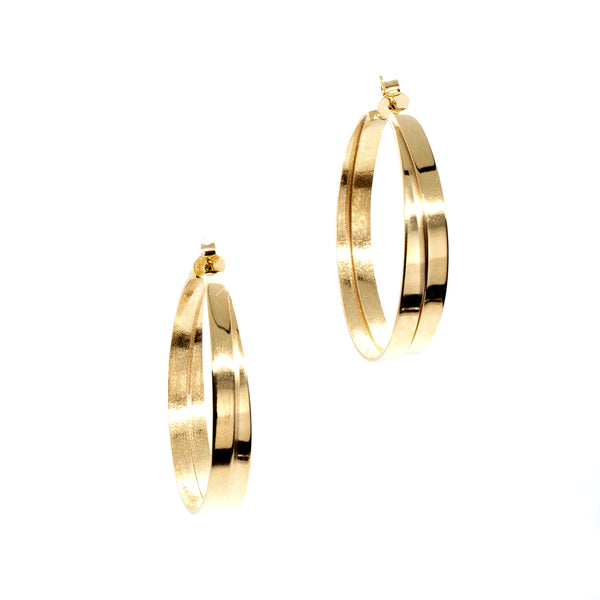 Large Entwine Hoops