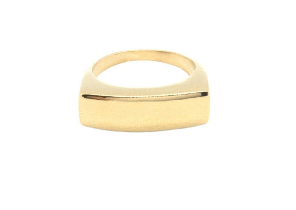 Statement Rectangular Ring