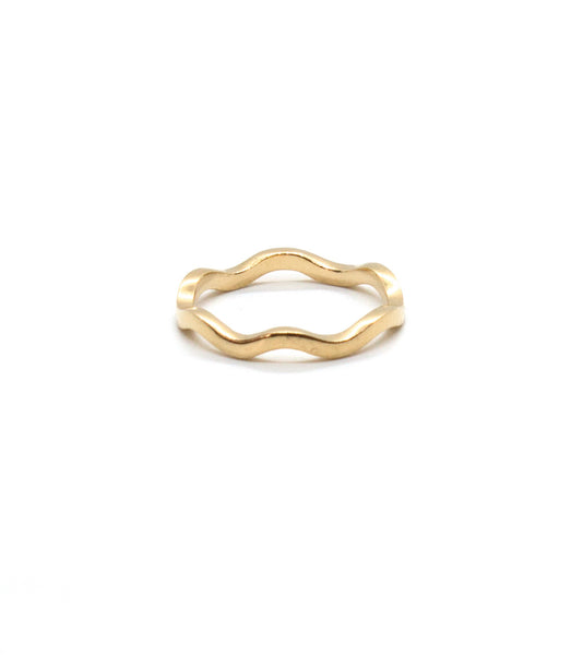 Waved Ring