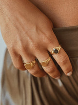 Mel Medium Signet Ring