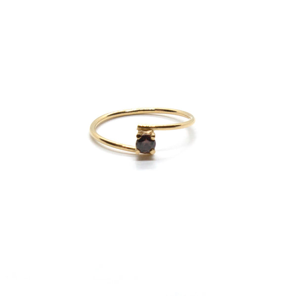 Asymmetric Dainty Ring