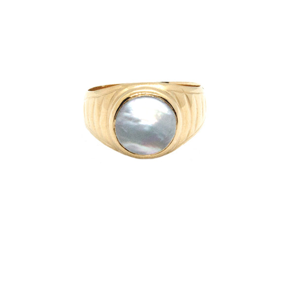 Bold Signet Ring - (More Stones Available)