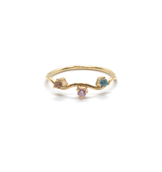 Waved Stacking Ring