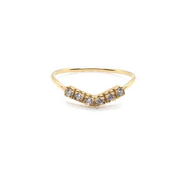 Waved Stacking Ring - (More Colours Available)