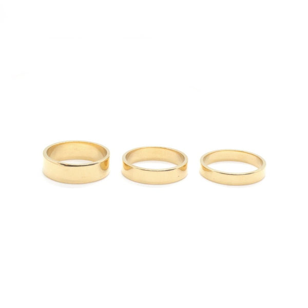 Drew Stacking Ring - Trio
