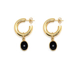Heather Mini Hoops