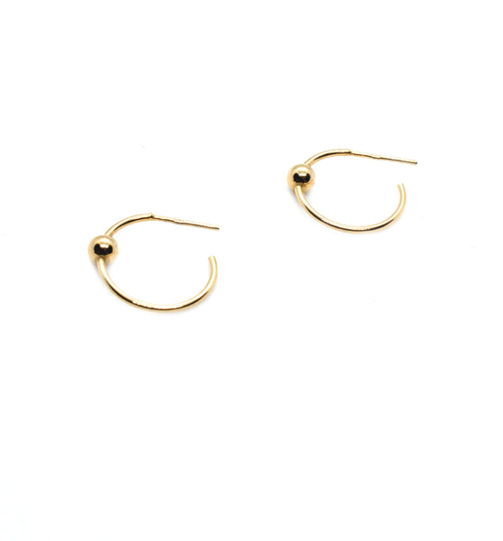 Small Sphere Hoops