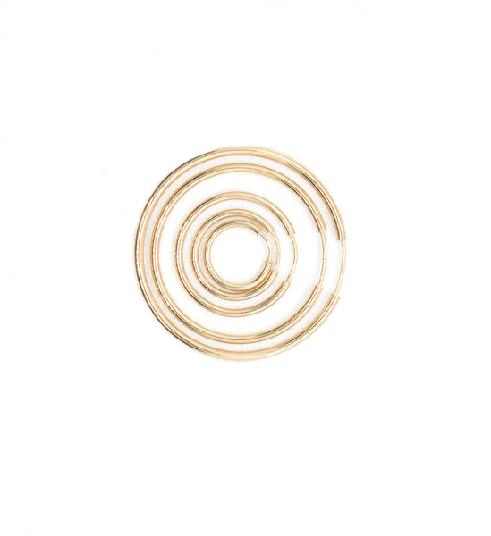 Leo Hoops - Various Sizes