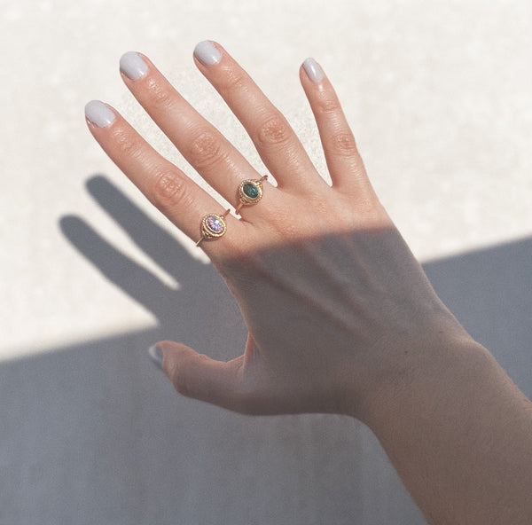 Paloma Birthstone Ring