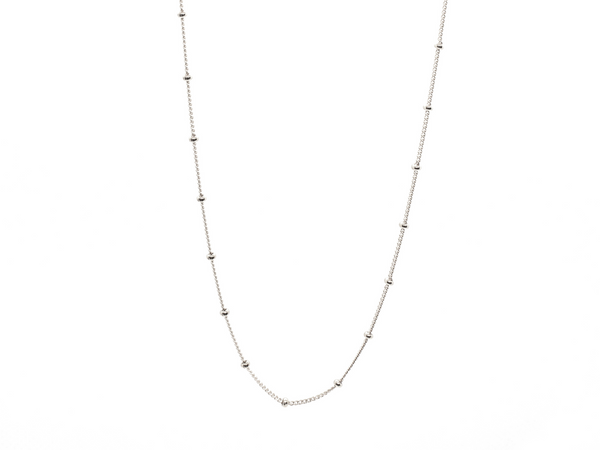 Dainty Satellite Chain Necklace