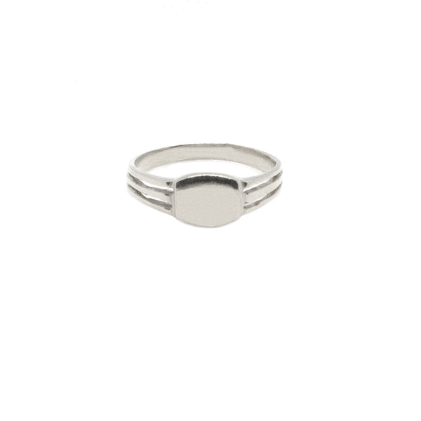 Blake Signet Ring - (Engraving Available)