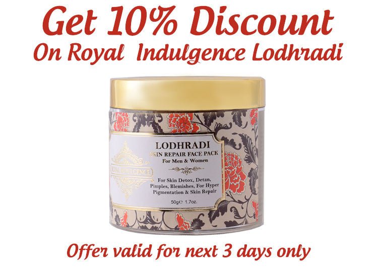Get Everlasting Beauty With Royal Indulgence Lodhradi Skin Repair Solution