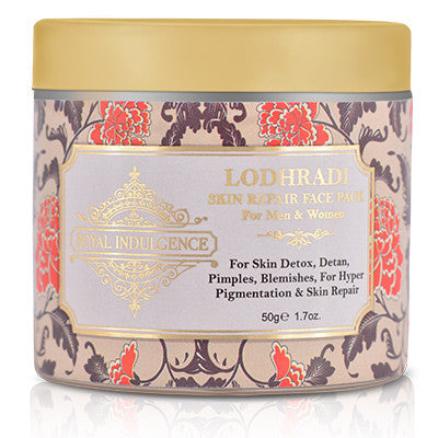 Lodhradi Detoxifying Face Mask 50 gms by Royal Indulgence