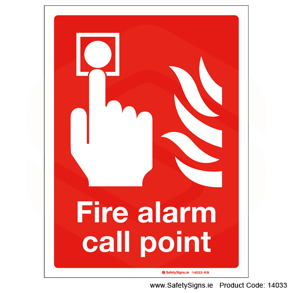 Fire Alarm Call Point - 14033