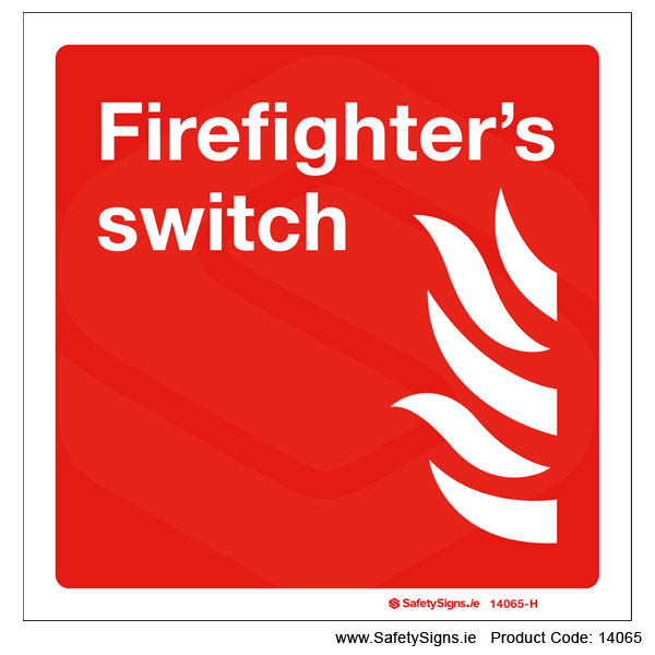 Firefighter's Switch - 14065