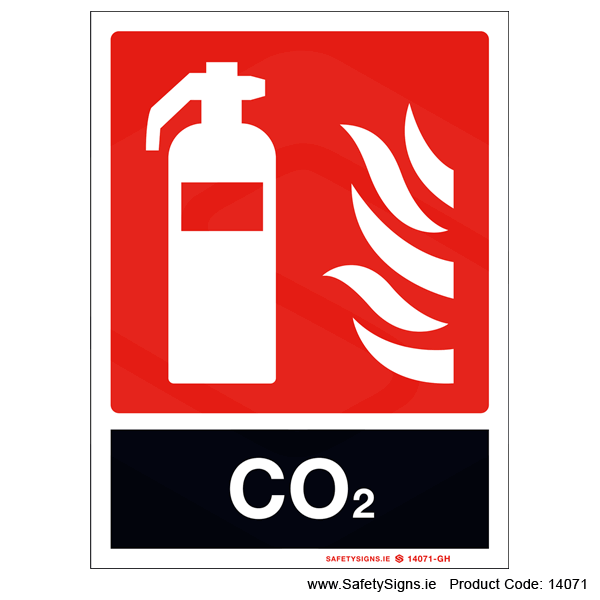 Fire Extinguisher SG17 CO2 - 14071