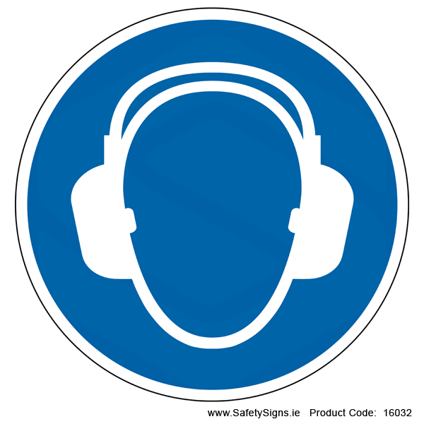 Wear Ear Protection (Circular) - 16032