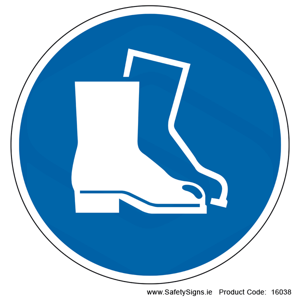 Wear Safety Footwear (Circular) - 16038