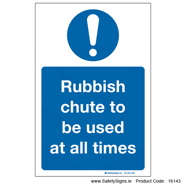 Use Rubbish Chute - 16143