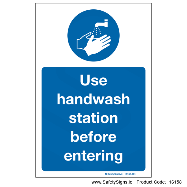 Use Handwash Station - 16158