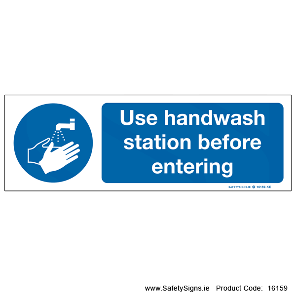 Use Handwash Station - 16159
