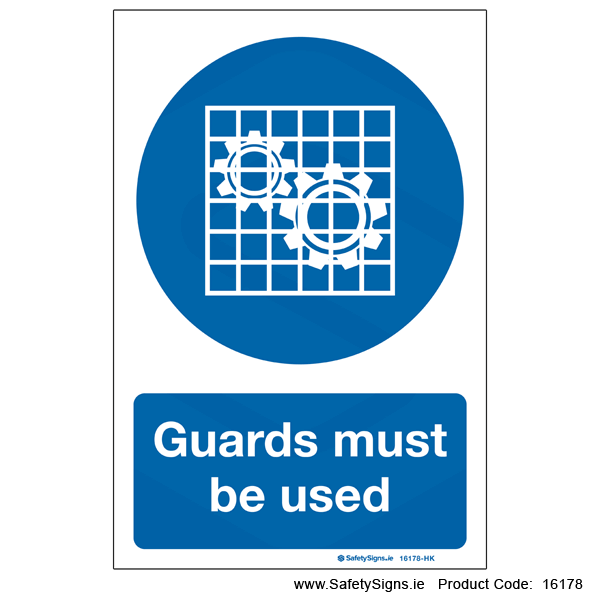 Guards must be Used - 16178
