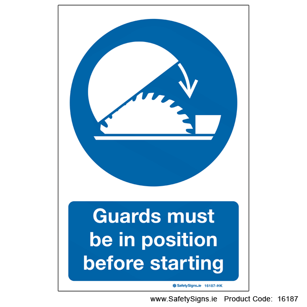 Guards must be in Position - 16187