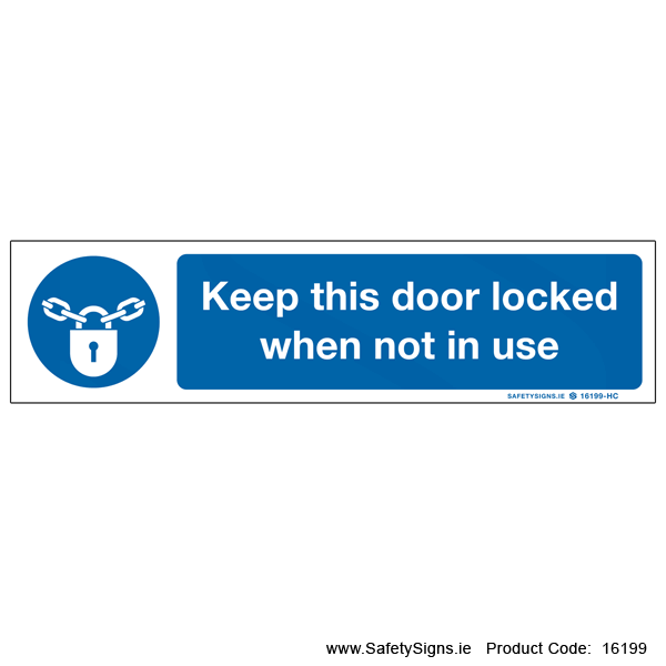 Keep Locked - 16199