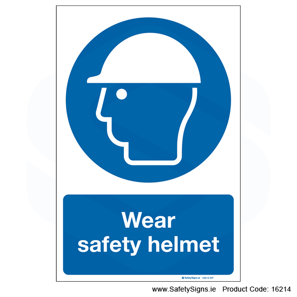 Wear Safety Helmet - 16214