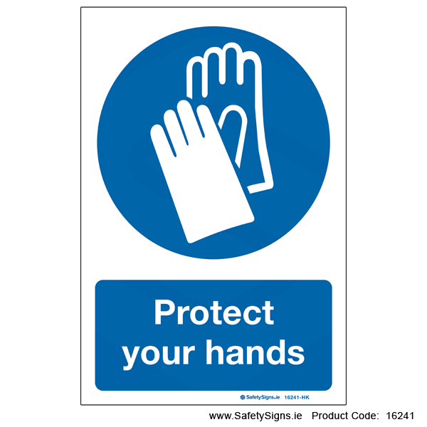Protect your Hands - 16241
